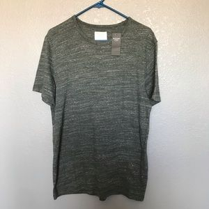 NWT Abercrombie & Fitch Green Heathered Tshirt M
